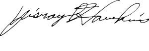 Yisrayl Hawkins Signature